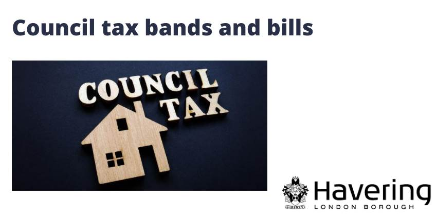 Council tax bands and bills