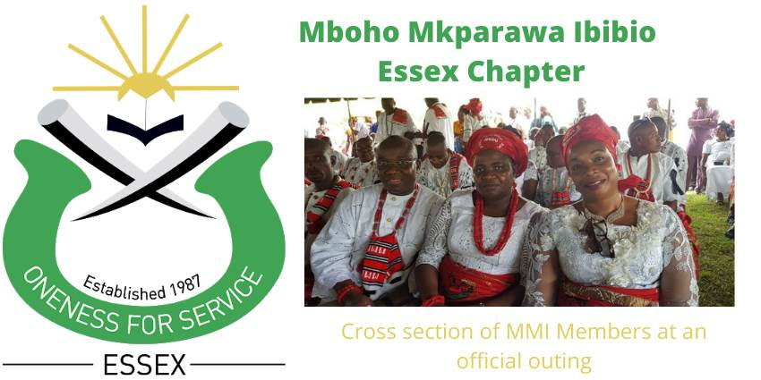 Mboho Mkparawa Ibibio , Essex Chapter