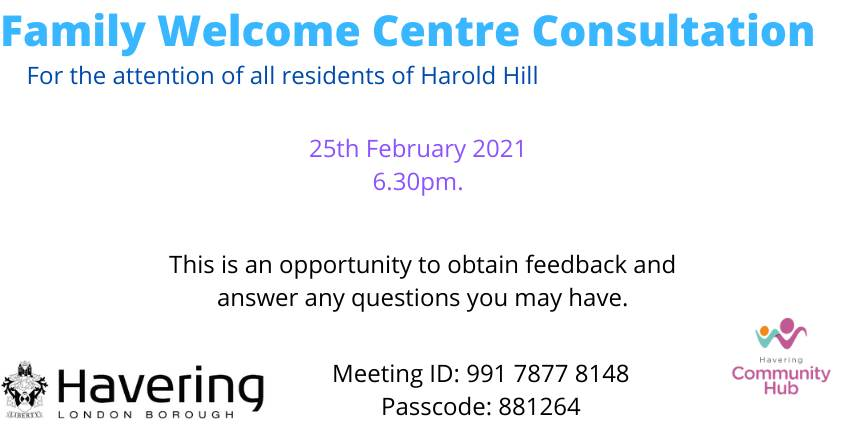 Family Welcome Centre Consultation